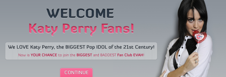 Join Katy Perry Fan Club!